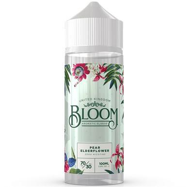 Pear Elderflower E Liquid 100ml by Bloom