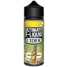 Autumn Apple Cider E Liquid 100ml by Ultimate Puff