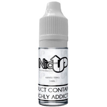 Unflavoured 100VG Nicotine Shot E Liquid 10ml By Nic Up