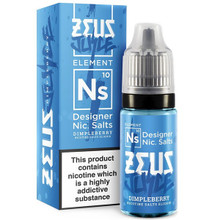Dimpleberry Nic Salt E Liquid 10ml by Zeus Juice