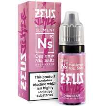 Dodoberry Nic Salt E Liquid 10ml by Zeus Juice
