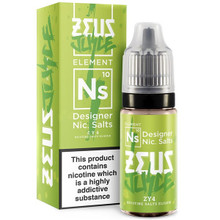 ZY4 Nic Salt E Liquid 10ml by Zeus Juice