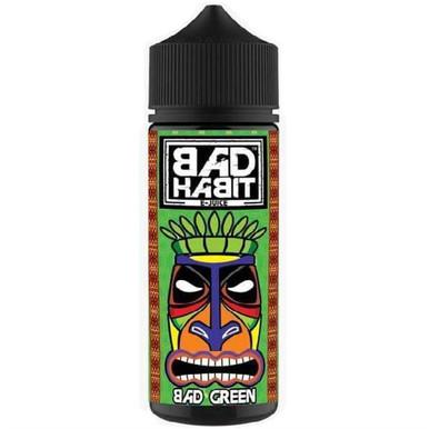Bad Green E Liquid 100ml by Bad Habit