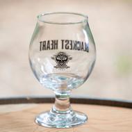 Blackest Heart Belgian Glass - 13 oz