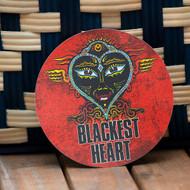 Blackest Heart Vinyl Sticker