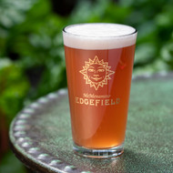 Edgefield Gold Sun Pint Glass