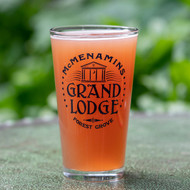 Grand Lodge Pint Glass