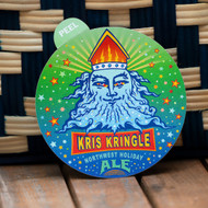 Kris Kringle Vinyl Sticker