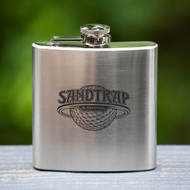 Sandtrap Stainless Flask - 6 oz