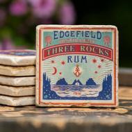 Three Rocks Rum Coaster