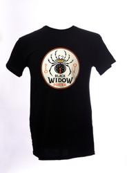 Black Widow Porter Vintage Logo T-Shirt