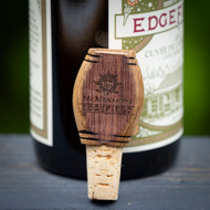 Wood Wine Cask Bottle Stopper