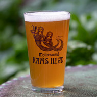 Rams Head Pint Glass
