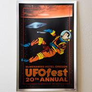 UFO Fest 20th Anniversary Poster