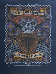 Dia De Los Muertos Poster - Gary Houston