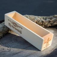 Edgefield Pine Condiment Box