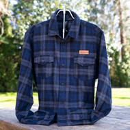McMenamins Flannel - Navy/Charcoal