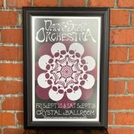 McMenamins Framed Poster - Crystal Ballroom Dark Star Orchestra