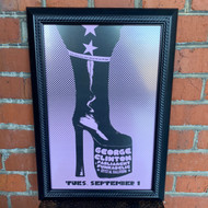 McMenamins Framed Poster - Crystal Ballroom George Clinton 2