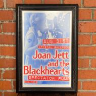 McMenamins Framed Poster - Crystal Ballroom Joan Jett & the Blackhearts