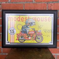 McMenamins Framed Poster - Crystal Ballroom Modest Mouse - Autographed