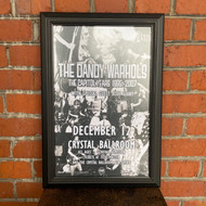 McMenamins Framed Poster - Crystal Ballroom The Dandy Warhols