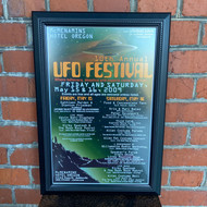 McMenamins Framed Poster -10th annual UFO Fest