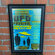 McMenamins Framed Poster - 9th Annual UFO Fest