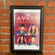 McMenamins Framed Poster - Crystal Ballroom Avett Brothers