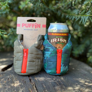 Puffin Coolers Vest Can Sleeve