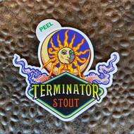 Terminator Stout Vinyl Sticker