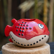 MunkTiki Fugu Jr Red Mug