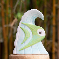 MunkTiki Surf Bob Green Mug