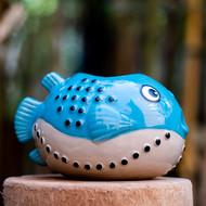 MunkTiki Fugu Jr Blue Mug