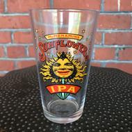 Sunflower IPA Pint Glass
