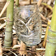 Double Old Fashioned Tiki Glass