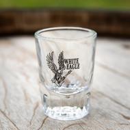 White Eagle Shot Glass