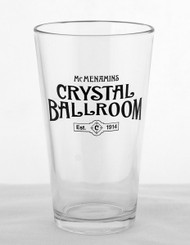 "Crystal Ballroom ""Est. 1914"" Pint Glass"