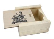 Ruby Artwork Coaster Pine Box