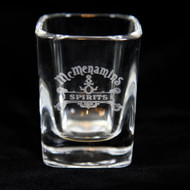 McMenamins Spirits Etched Shot Glass