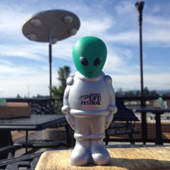 UFO Fest Alien Stress Toy