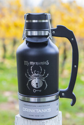 Black Widow Porter DrinkTank Growler