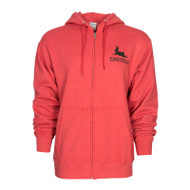 Edgefield Black Rabbit Zip Hoodie