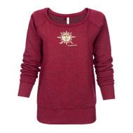 Flame Sun Ladies Sweatshirt