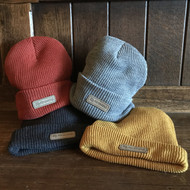 McMenamins Suede Patch Beanie