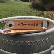 McMenamins Beechwood Paddle Bottle Opener