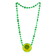 St Patricks Day Clover Devil's Bit Necklace
