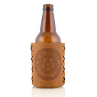 Elks Temple Leather Can/Bottle Sleeve