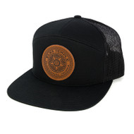 Elks Temple Leather Patch Hat