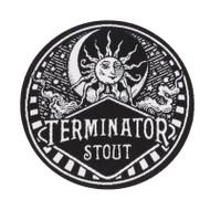 Terminator Stout Vintage Logo Patch